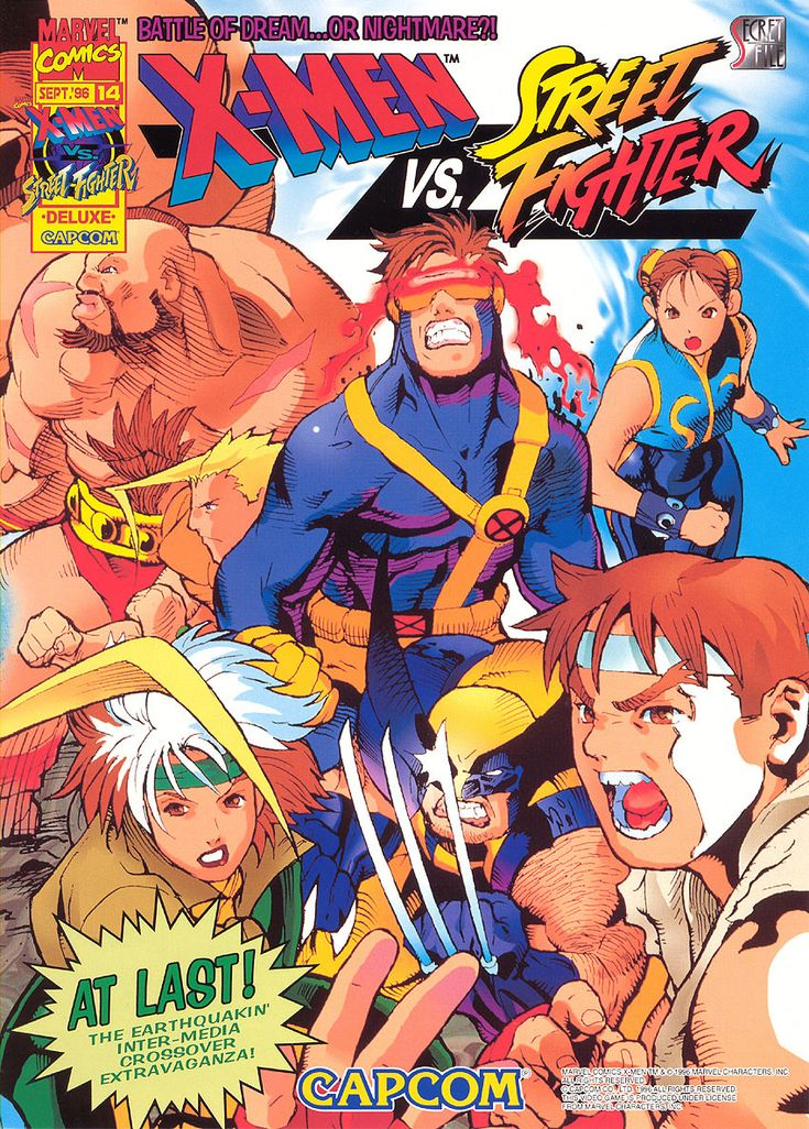 SF#14: X-Men Vs. Street Fighter