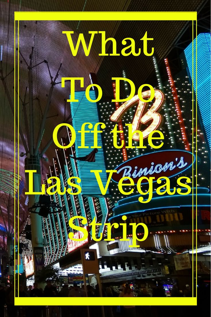 Fun things to do Off the Las Vegas Strip. Delicious restaurants to try off the Las Vegas Strip. Read here about what we think is the best!