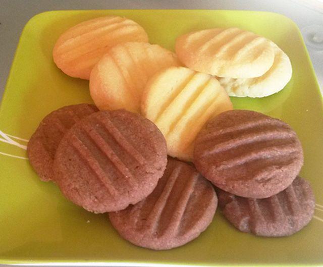 Vaníliás, kókuszos és csokis keksz villámgyorsan