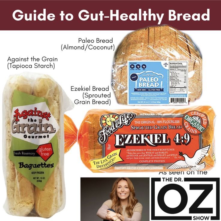 Yesterday I was on the Dr. Oz show talking about BREAD! There are new types of bread that can help support gut health. While there is no bread at all allowed during the 21-day Bone Broth Diet (sorry!), you can certainly experiment with adding in small amounts during your 80/20 lifestyle/maintenance. The trick with bread is that you have to choose carefully—you always want to choose food that stops inflammation and supports gut health!