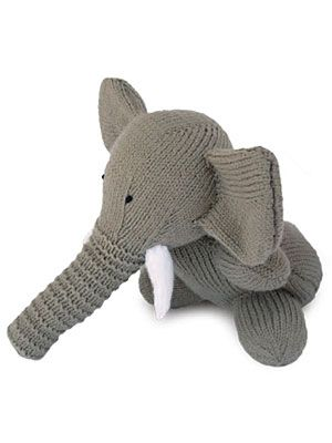 Craft+Project:+Knitted+Toy+Elephant - WomansDay.com