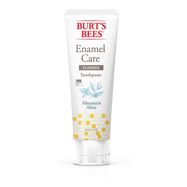 Burt S Bees Enamel Care Mountain Mint Toothpaste With Fluoride