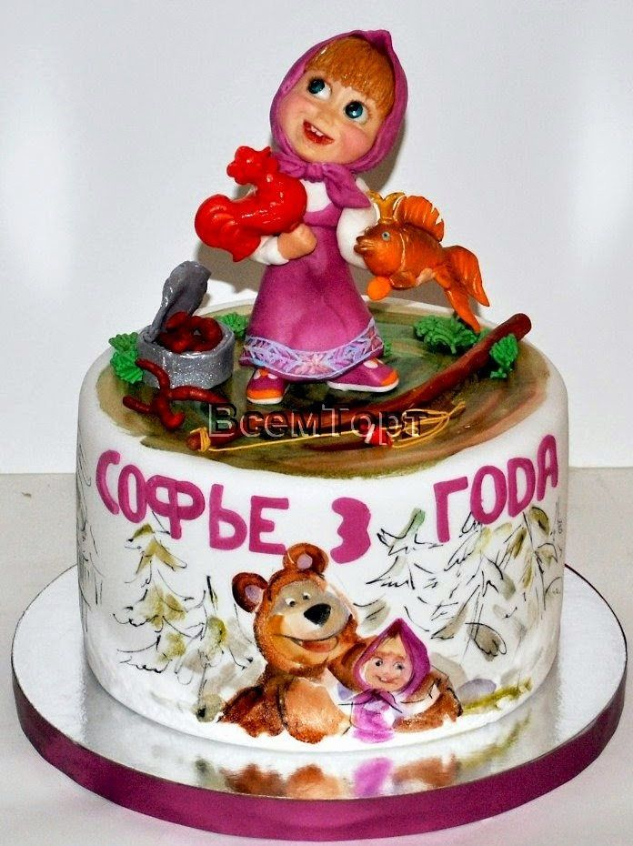 https://flic.kr/p/pCvDYY | Children's cake | Детский торт 183