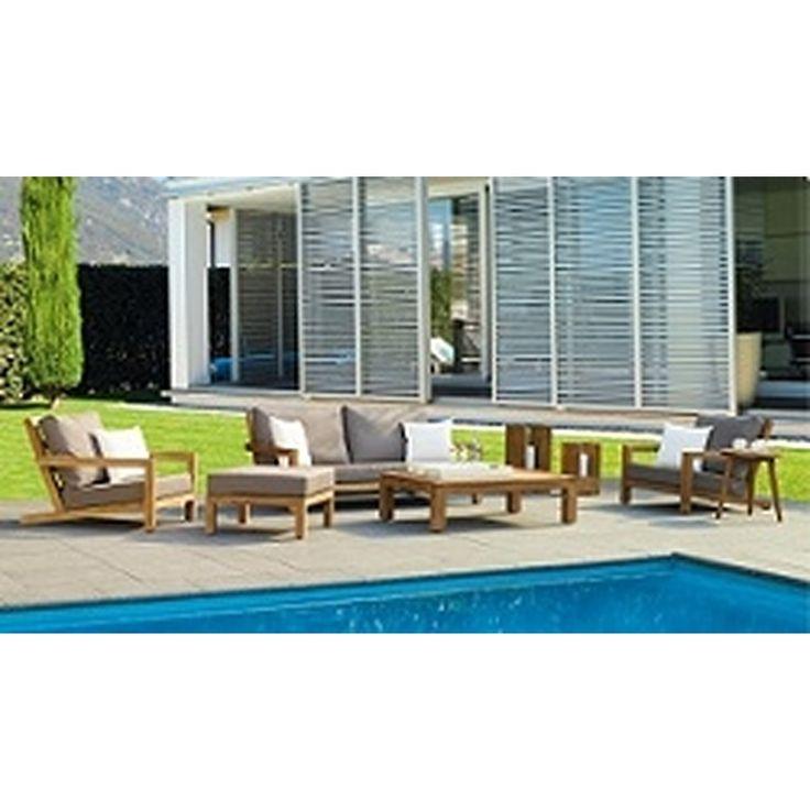 Life Outdoor Living Block Loungeset Teak