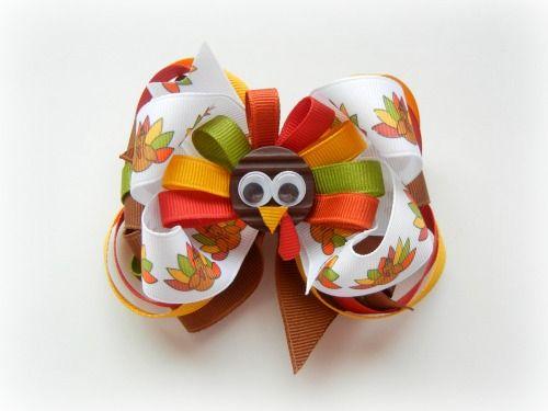 Thanksgiving bow.