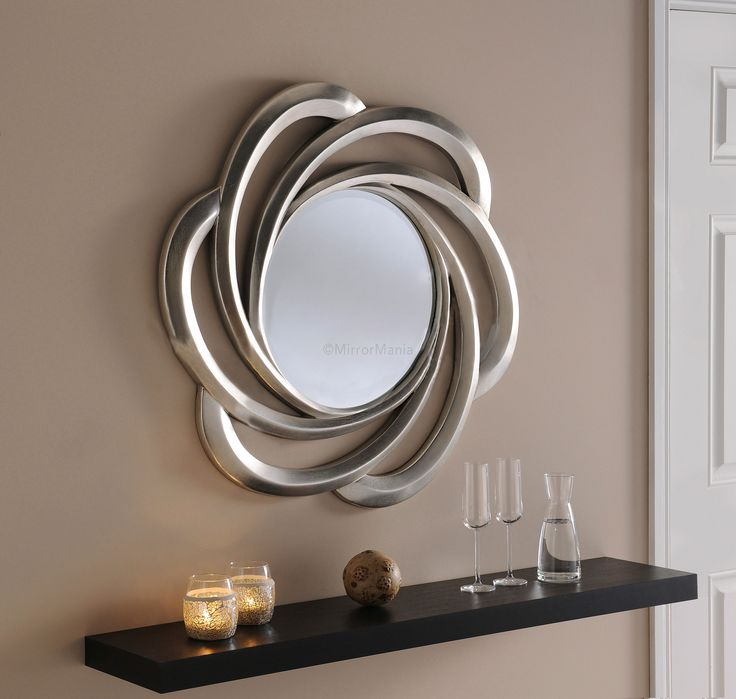 Lunetta Decorative Framed Round Mirror - All Mirrors - Mirrors