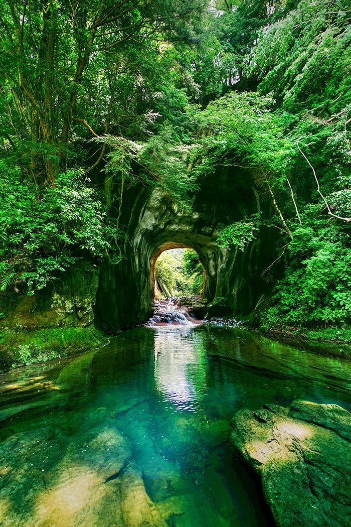まるでジブリの世界みたいとインスタグラムで話題の秘境「濃溝の滝」 | 千葉県の撮影スポット ,japan,photography,landscape