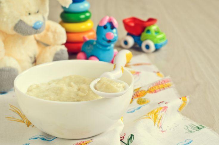 Petržlenový príkrm pre dojčatá s feniklom
