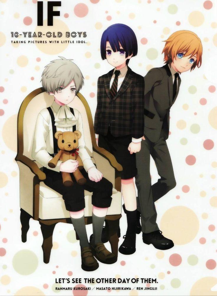 Ranmaru, Masato and Ren - child ^^