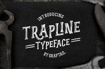 Trapline Typeface
