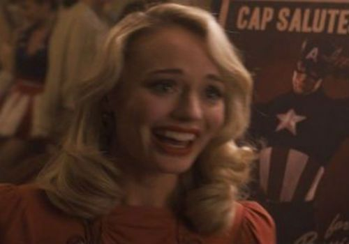 TIL Meredith Quill was in Captain America: The First Avenger