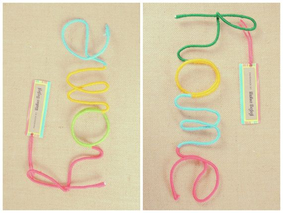 Home - Wool Wrapped Letters on Etsy, $39.99 AUD