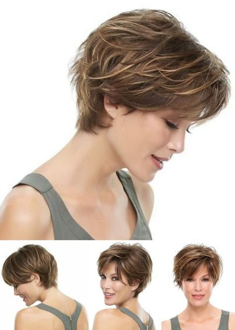 Now in the photo: The practical and cheerful short haircut ⋆ De Frente Pa