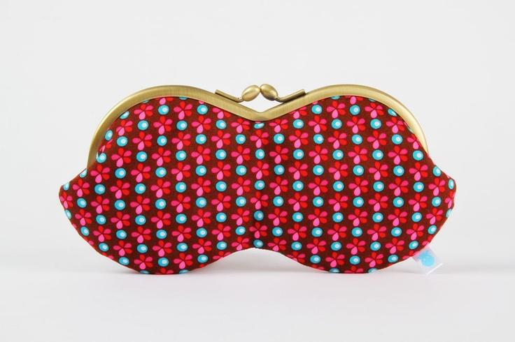 Peanut Petit Pan Sioux brown eyeglasses metal frame by octopurse. $32.40, via Etsy.