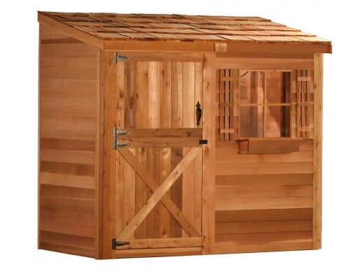 Cedarshed | Bayside 8x3 Lean To Shed Kit | On Sale Now