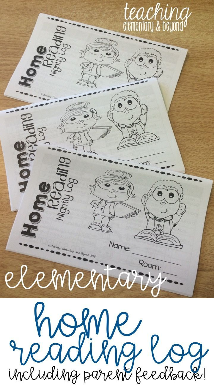 This home reading book log is great communication between home and school for up to 250 nights! There are great kid friendly reading strategies included in the booklet to help guide parents and they are also available in poster and bookmark format!