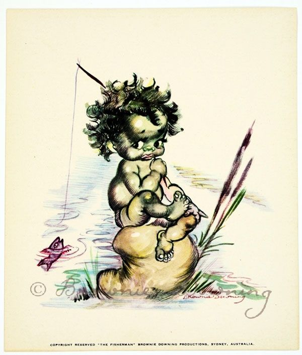 Print - indigenous Australian child 1 - Brownie Downing | Artist & Illustrator | Official Site