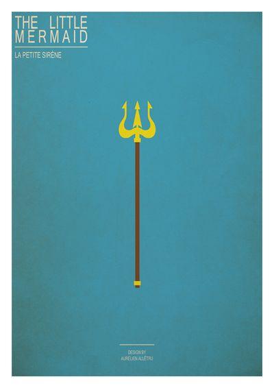 Clueless: Pôsters minimalistas da Disney