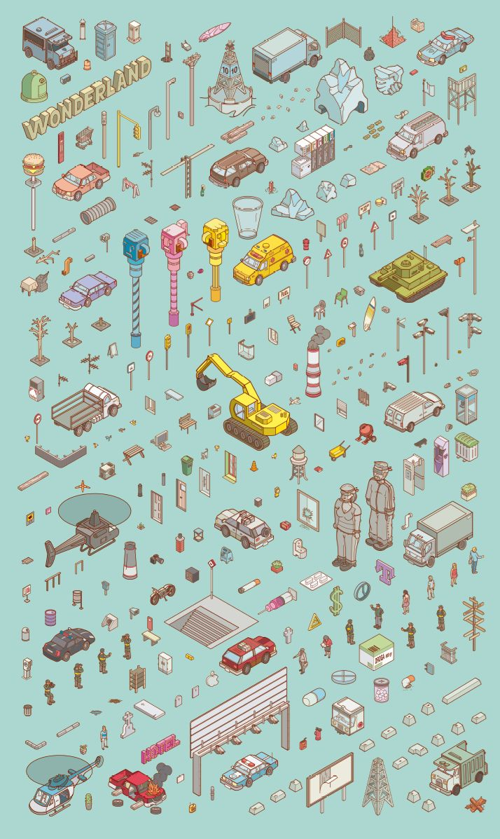 Chaos City on Behance