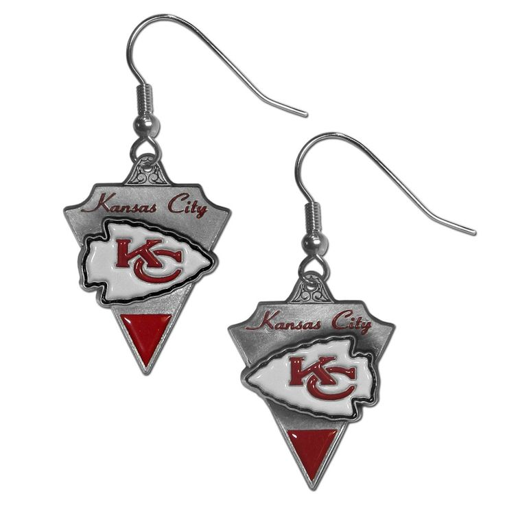 Kansas City Chiefs Classic Dangle Earrings