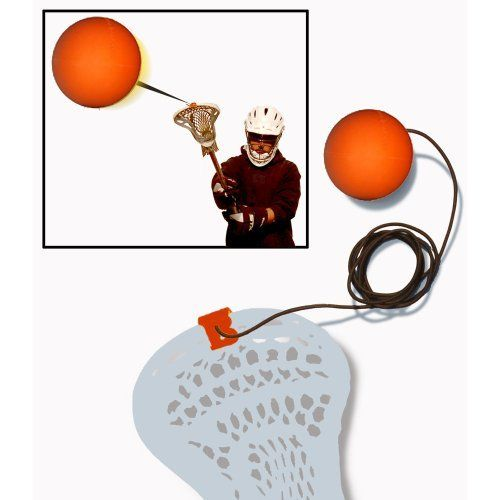 B-Lax Blast V2 ORANGE by B-Lax Blast. $18.99. It's legit, a lacrosse rebounder for anyone: men, women or youth.  A real lacrosse ball is thrown out and the elastic cord retracts the ball. Attaches to any stick (guy, girl, pole, goalie, etc).