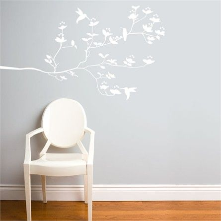 Best 25+ White Wall Stickers Ideas On Pinterest | Tree Wall Decals, Tree  Wall And Nursery Wall Murals Part 51