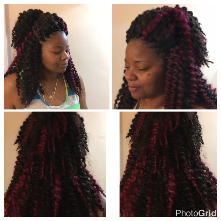 Crochet braids undone Havana twist big lovely hair done by me #detroit ...