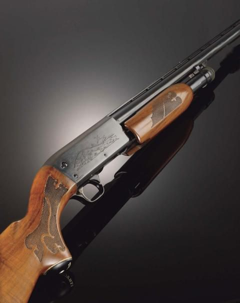 Ithaca m37, one of my personal favorits.  I had one in 16 gage.