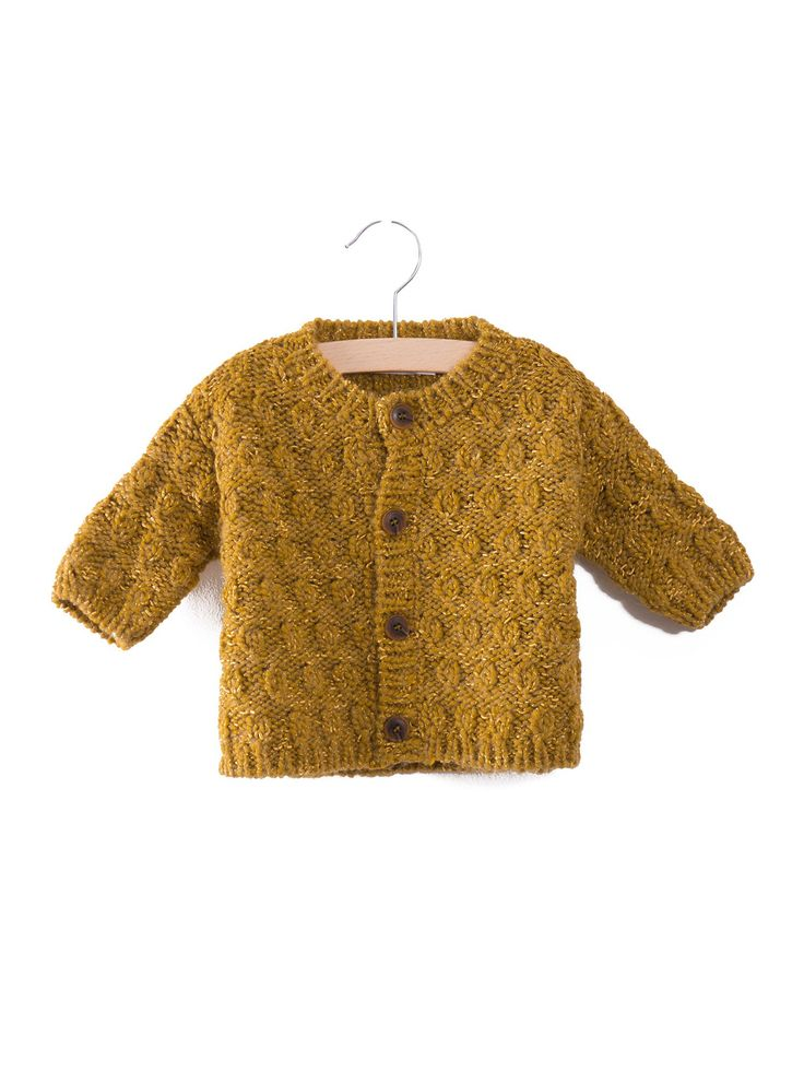 Octopus baby knitted Cardigan