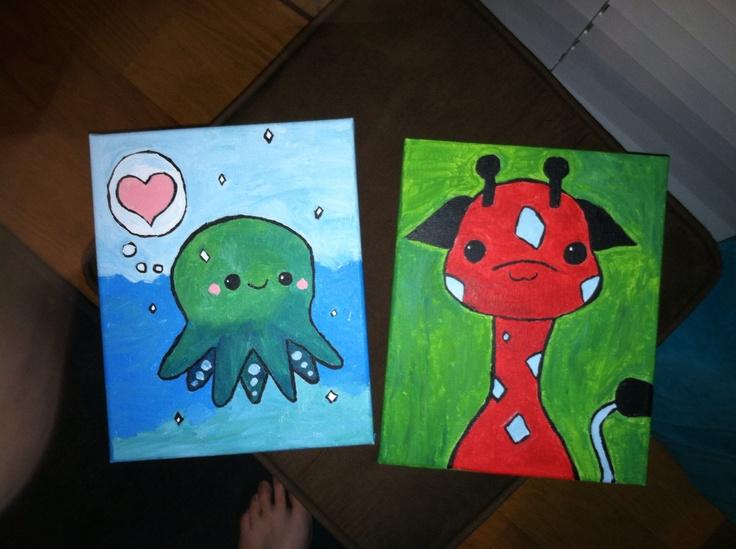 Super cute small paintings