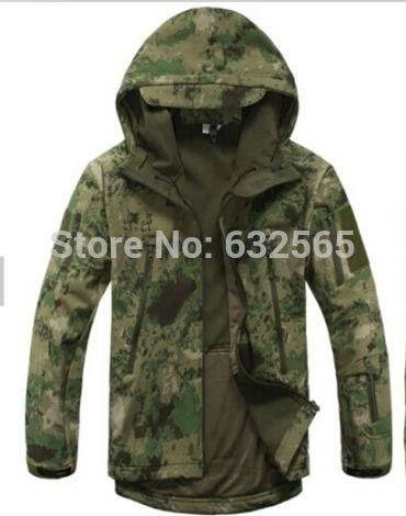 [Visit to Buy] TAD Gear Softshell Jacket Camouflage ATACS FG Jacket #Advertisement