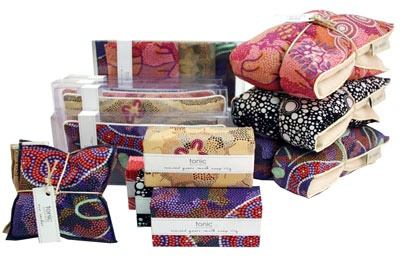tonic australia - gifts, gift boxes, heat pillows, candles, soaps, fabric accessories, stationery, skincare
