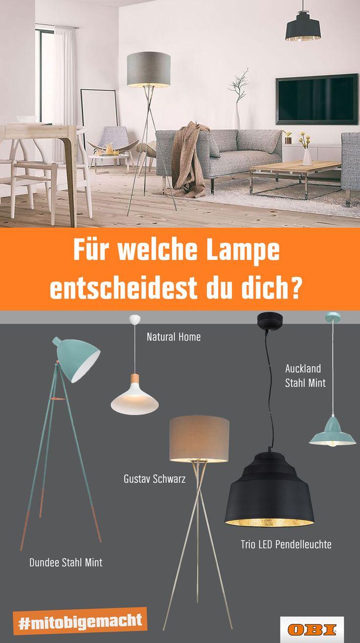 moderne lampen design leuchten bei - Wohnzimmerlampen Obi