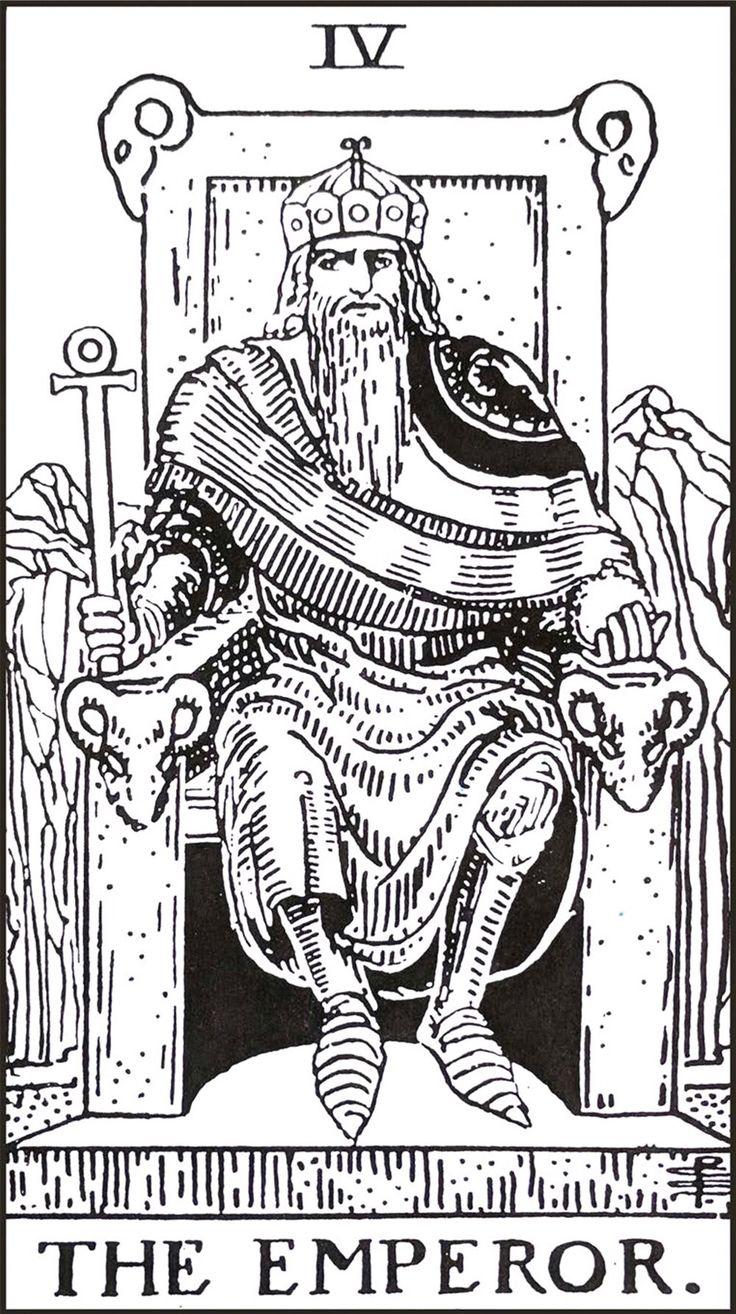 The Emperor In 2020 Tarot Cards Art 78 Tarot Cards Tarot Art