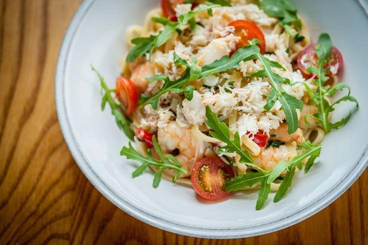 Linguine al granchio (crab linguine)