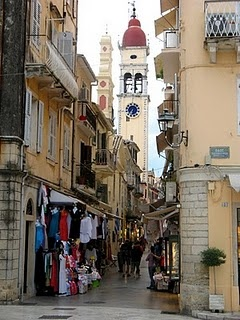 Corfu Town  http://www.cycladia.com/travel-guides-greece/corfu-guide-tips/shops-galleries/