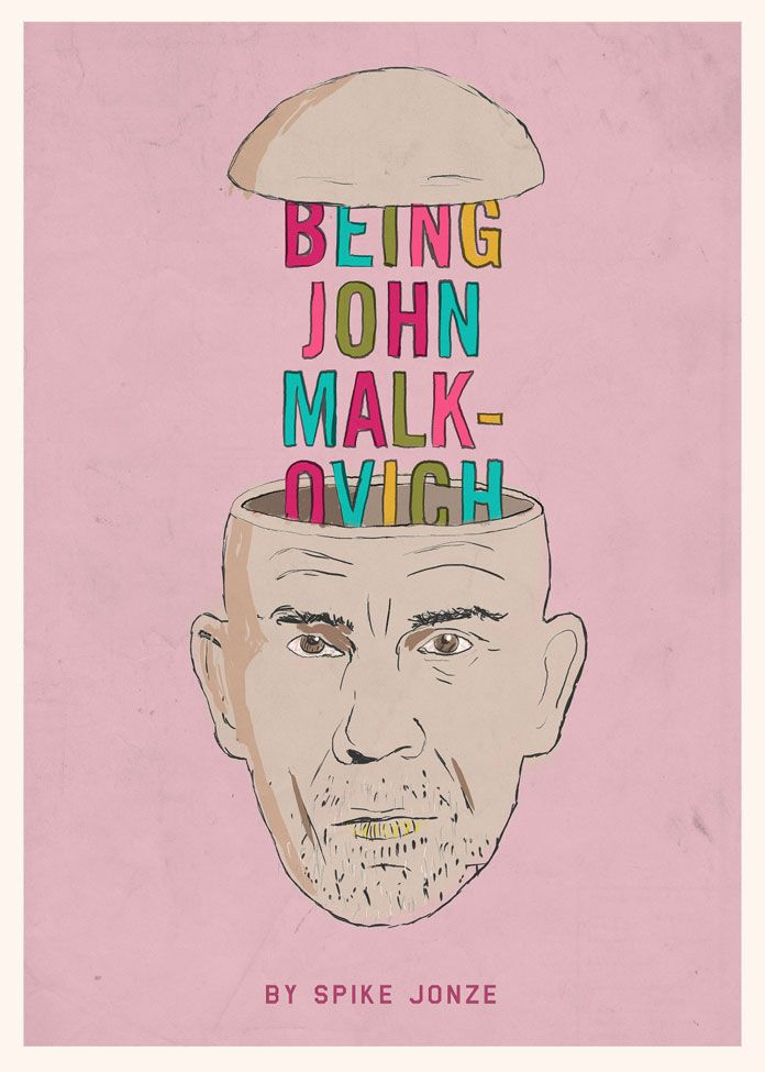 Movie Poster Movement — Being John Malkovich by Peter Majarich