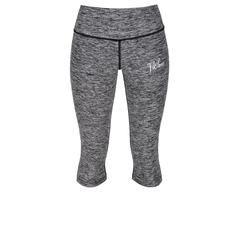 Grey Signature Capri #Activewear #Gymwear #FitnessLeggings #Leggings #Tikiboo #Running #Yoga