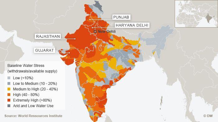 Nature alerte: 27/02/2015...Inde: 100 millions de personnes vivent dans des zones à trés mauvaise qualité d'eau potable