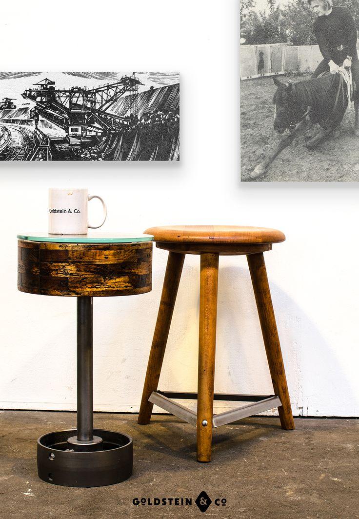 28 best industrial tables tische im industriedesign for Beistelltisch industriedesign