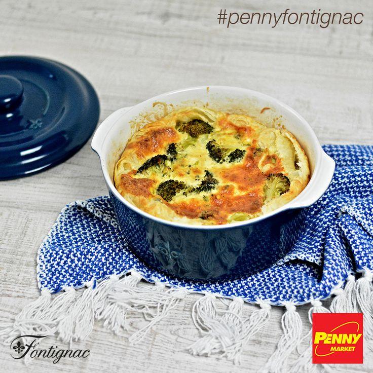 Připravte si chutný brokolicový koláč v kulatém kastrolu značky Fontignac, který nyní v PENNY můžete získat se slevou až 90 %! Celý recept najdete na http://www.penny-fontignac.cz/recepty/detail/brokolicovy-kolac. Dobrou chuť!  #penny #pennycz #pennymarket #pennymarketcz #pennyfontignac #fontignac #nadobi #nadobifontignac #kuchyne #vareni #peceni #recept #mnam #jidlo #kolac #brokolice #brokolicovykolac