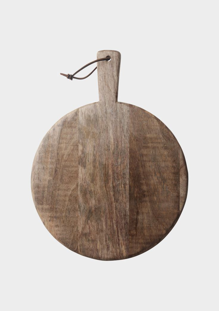 MANGO WOOD BREAD BOARDS  Hand made, rounded and slightly irregular bread boards with a natural finish.