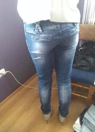 Kup mój przedmiot na #vintedpl http://www.vinted.pl/damska-odziez/rurki/16490357-spodnie-jeansy-rurki-z-kokardkami-i-guziki