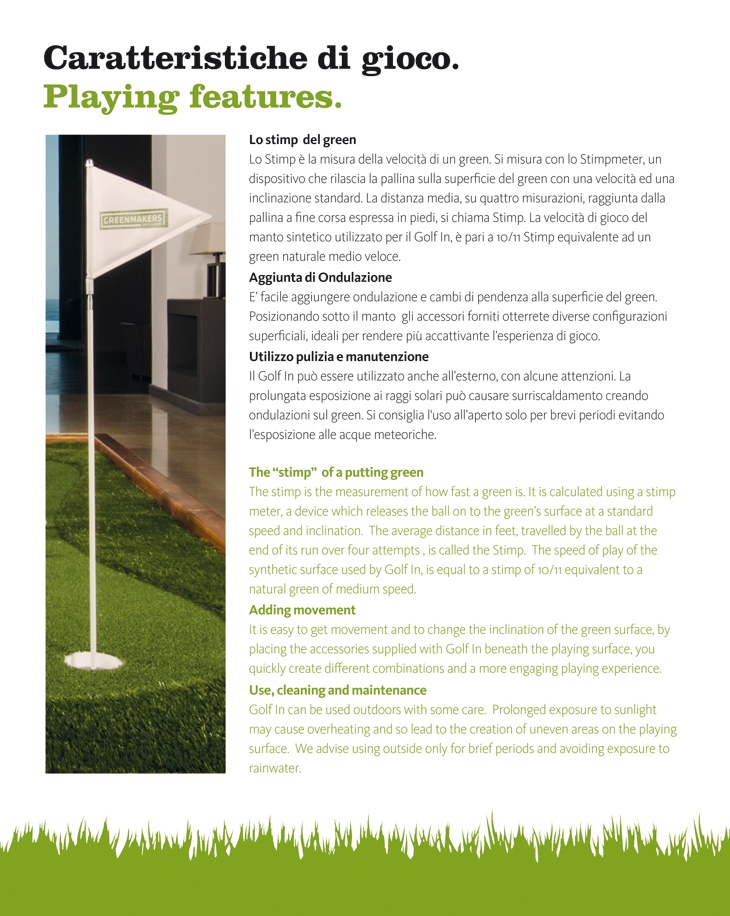 Pagina 10 Brochure Golf In Green Makers