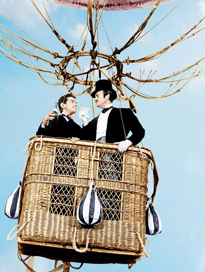 Cantinflas and David Niven in Around The World In 80 Days  (1956)