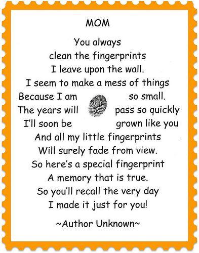 fingerprint poem by Funky Art Queen, via Flickr