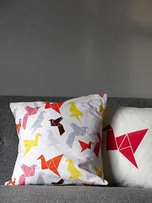 Origami pillows / Dottir & Sonur