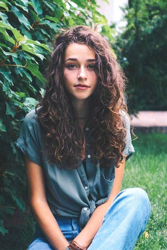 Beautiful Curly Hairstyles with Long Hair Picture 4 #LongCurlyHair