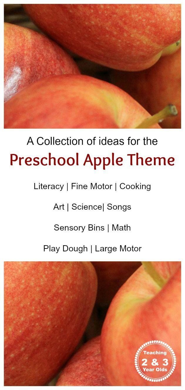 Preschool Apple Theme - Teaching 2 and 3 Year Olds