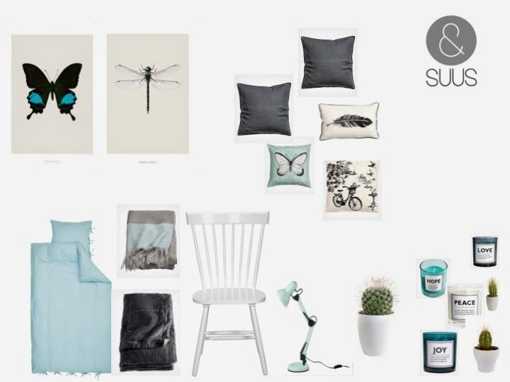 ...  bedroom grey blue  Interiorstyling  ensuusstyling  Vintage Blue